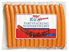 Thumbnail Partypackung Schinkenbratwurst 13er