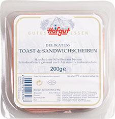 Thumbnail Delikatess Toast- & Sandwichscheiben