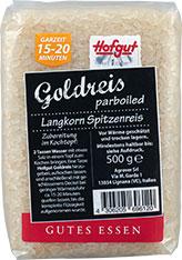 Thumbnail Goldreis parboiled