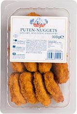 Thumbnail Puten-Nuggets gegart, knusprig paniert