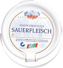 Thumbnail Hausgemachtes Sauerfleisch (Bauch) in Aspik