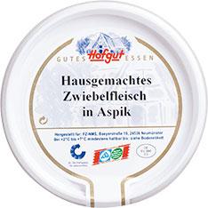 Thumbnail Hausgemachtes Zwiebelfleisch in Aspik