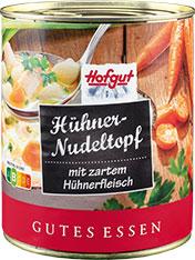 Thumbnail Hühner-Nudeltopf