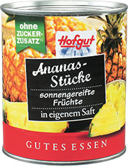 Thumbnail Ananas Stücke