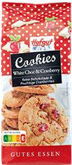 Thumbnail Cookies weisse Schoko & Cranberries 200g