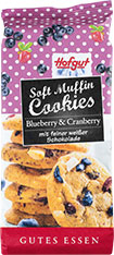 Thumbnail Soft Muffin Cookies Blueberry