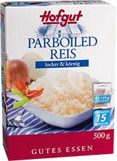 Thumbnail Parboiled Reis im Kochbeutel