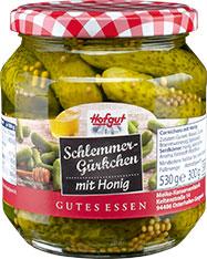 Thumbnail Schlemmergürkchen mit Honig