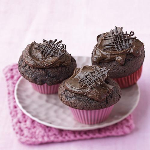 03 Schokoladen-Cupcake